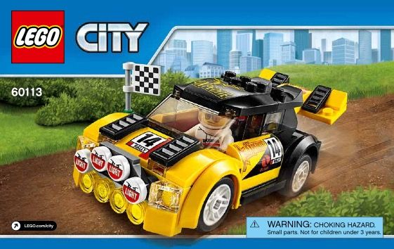 View Lego Instructions For Rally Car Set Number 60113 To Help You