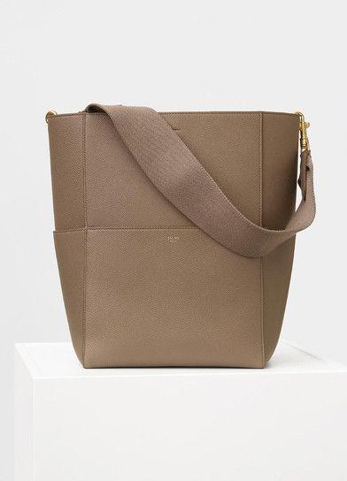 d08117423127 Seau Sangle Shoulder Bag in Soft Grained Calfskin - セリーヌについて ...