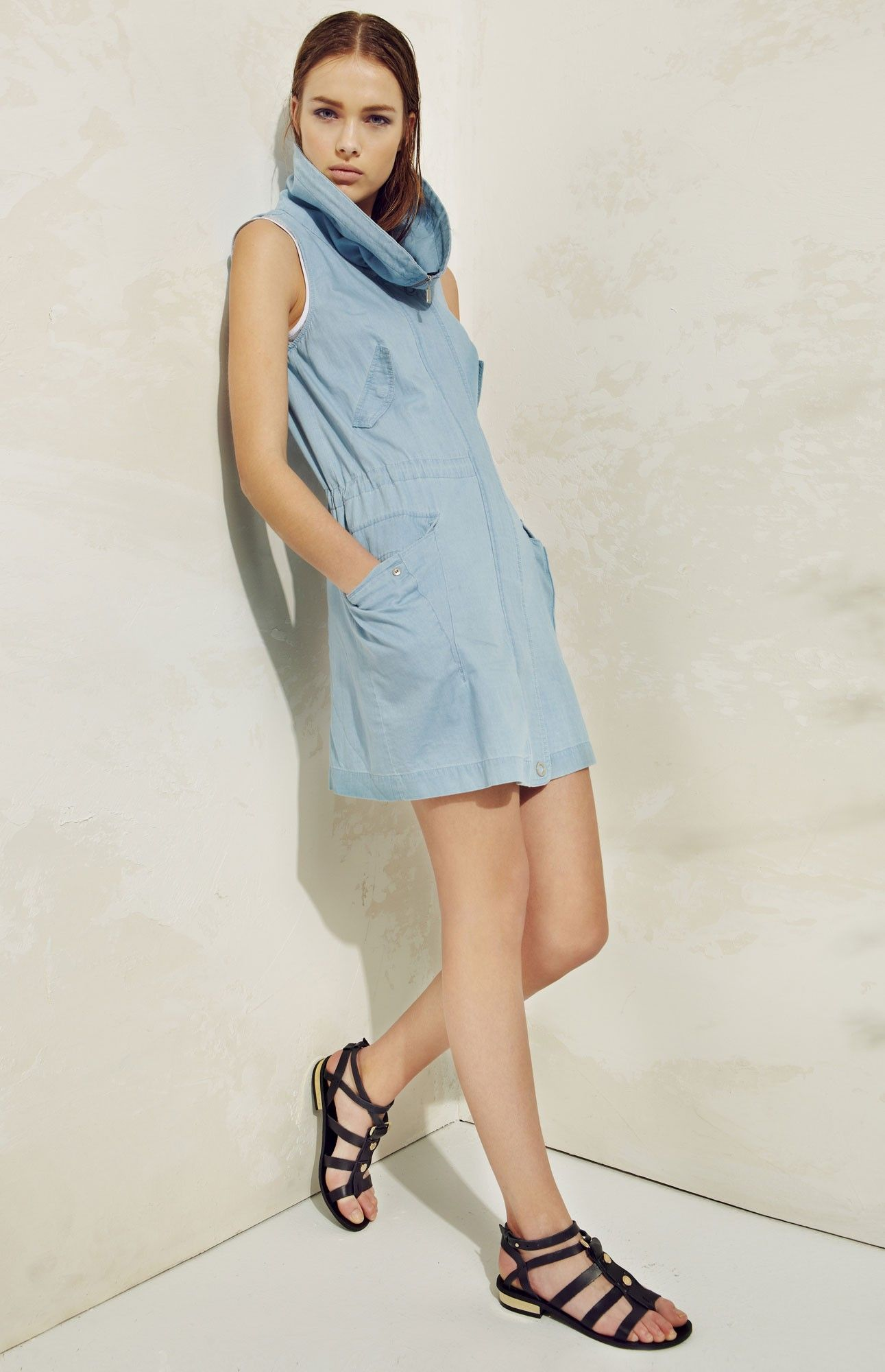 Vestido denim - vestidos - U CHICA