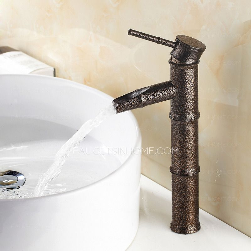 Cheap Bamboo Shaped One Hole Bathroom Sink Faucet | girls Bath ...