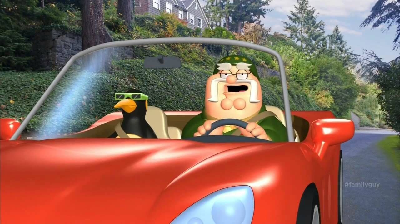 Family Guy The General Car Insurance Its All Fun And Games