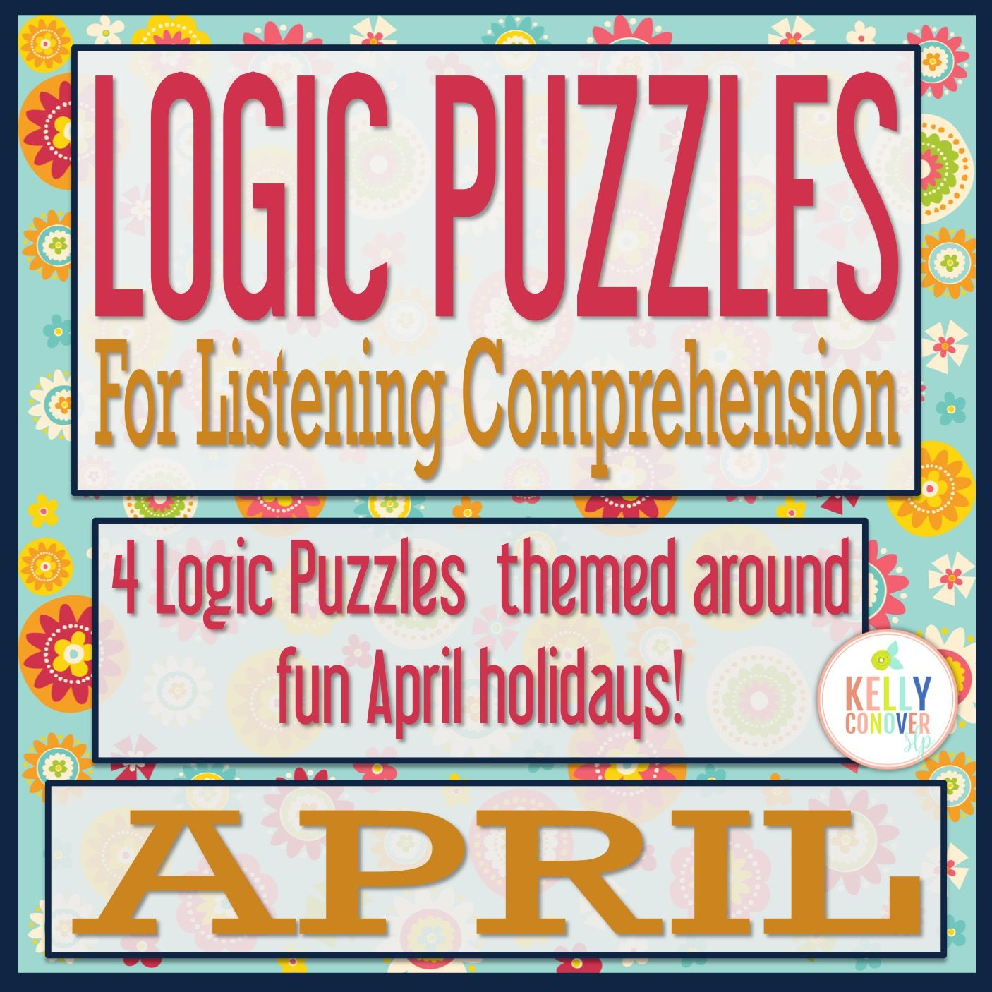 One Year Of Logic Puzzles For Listening Comprehension For