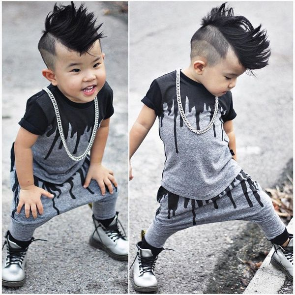 eb21f7f388d8 2pcs Newborn Toddler Infant Kids Baby Boy Clothes T-shirt Tops+Pants ...