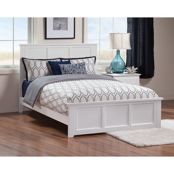 Harriet Bee Alanna Panel Bed Reviews Wayfair Atlantic Furniture Traditional Bed White Bed Frame