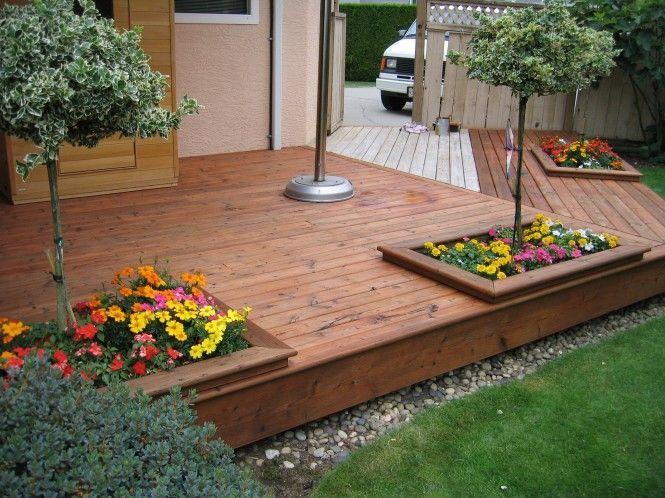 Wooden Pallet ideas | Pallet decking, Patio, Floating deck
