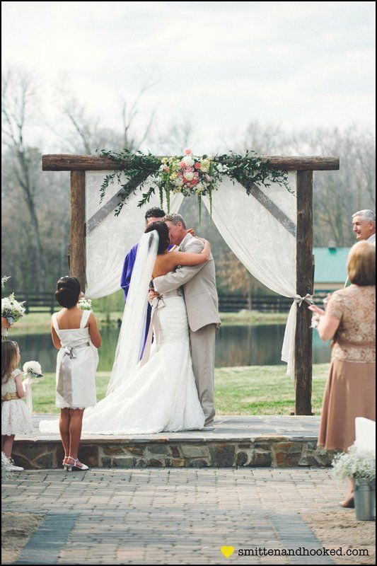 Renee Scottie Austins Wedding At Morning Glory Farm Monroe NC Photo By Smitten