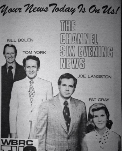 Birmingham News Anchors In 70 S I Thought Pat Gray Was Beautiful