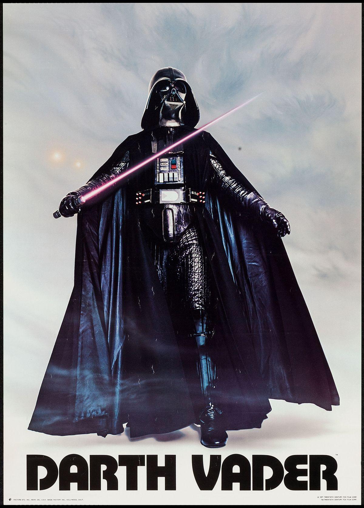 70's Darth Vader poster...   Happy star wars day, Star