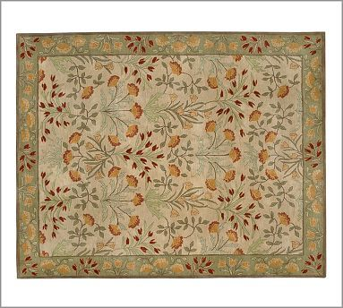 Adeline Tufted Wool Rug 2 5x9 Multi At Pottery Barn