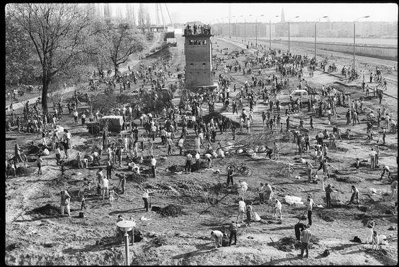 Mauerpark 1 4 1990 Berlin Geschichte Berliner Mauer Berlin
