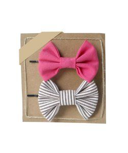 FreenaHair bows - set of two bobby pins
