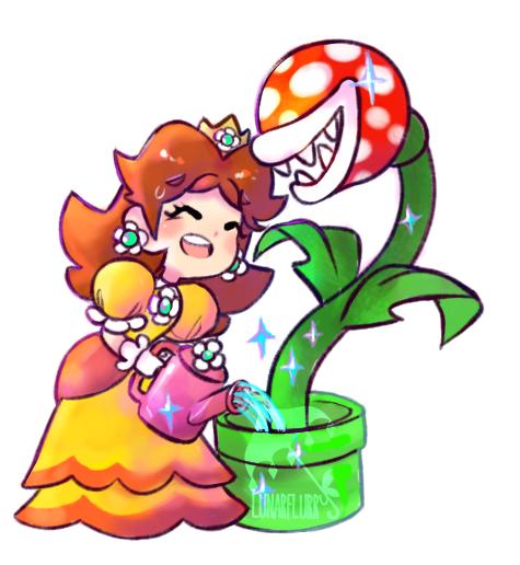 Princess Daisy By Lunarflurry Mario Nintendo Fanart