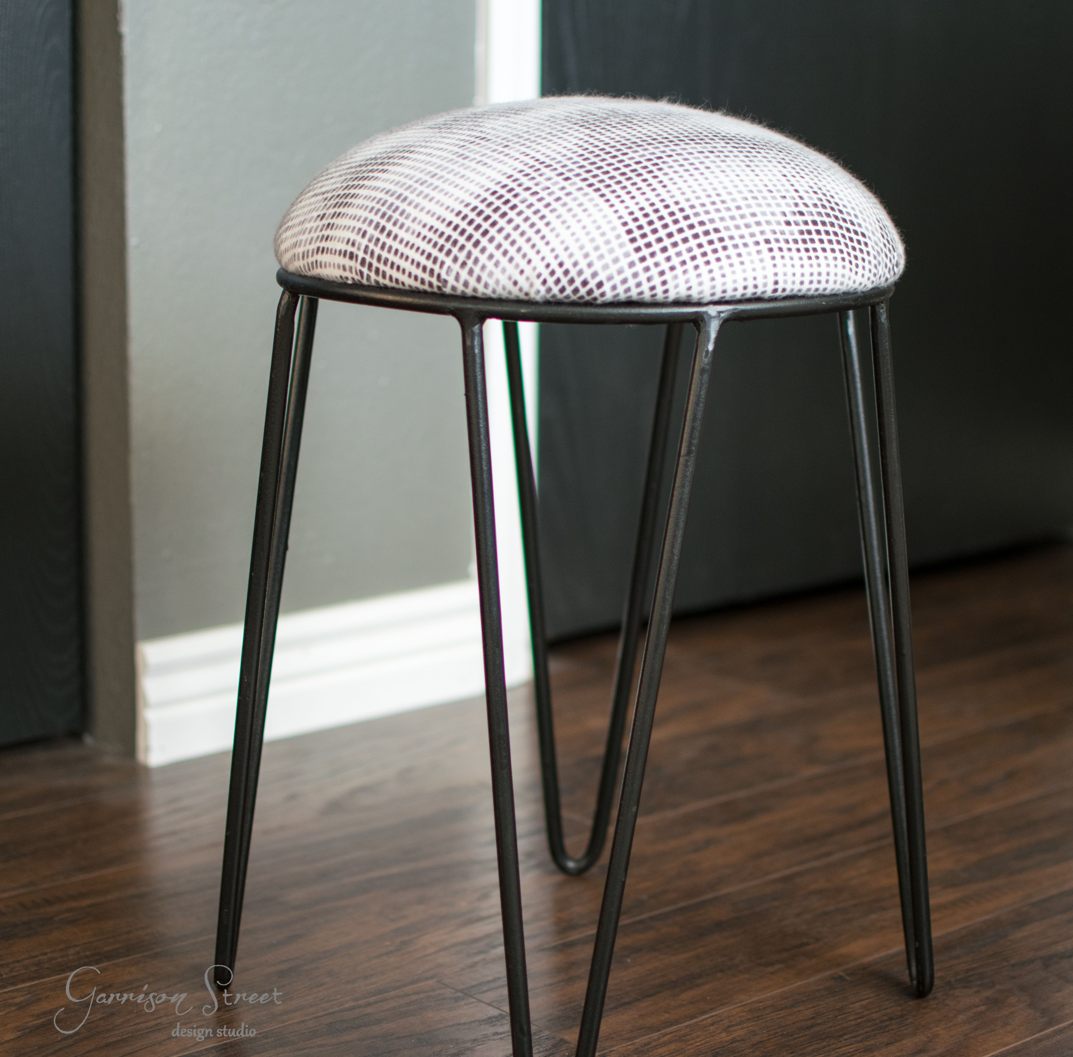 Diy Footstool Makeover