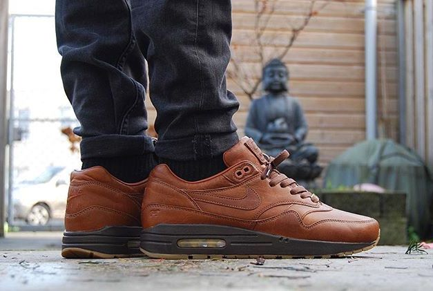 air max 1 homme marron