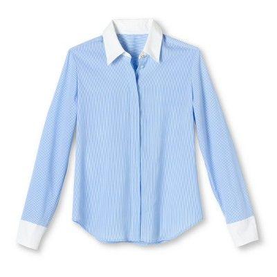 cea75113 Altuzarra for Target Striped Oxford Shirt- Light Blue/White?wid=280&hei=280