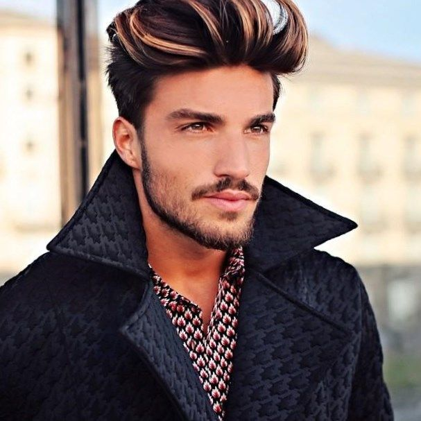 Blonde Strähnen Männer Frisuren Trendfrisuren2019 Frisurideen