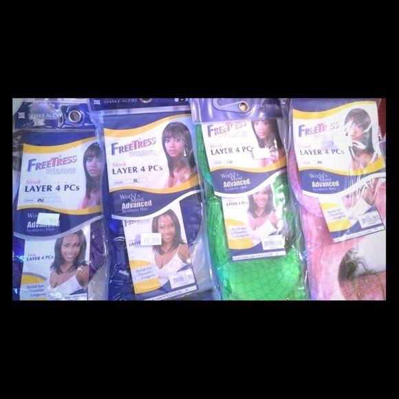 freetress synthetic weave sleek layer 4 pcs - www