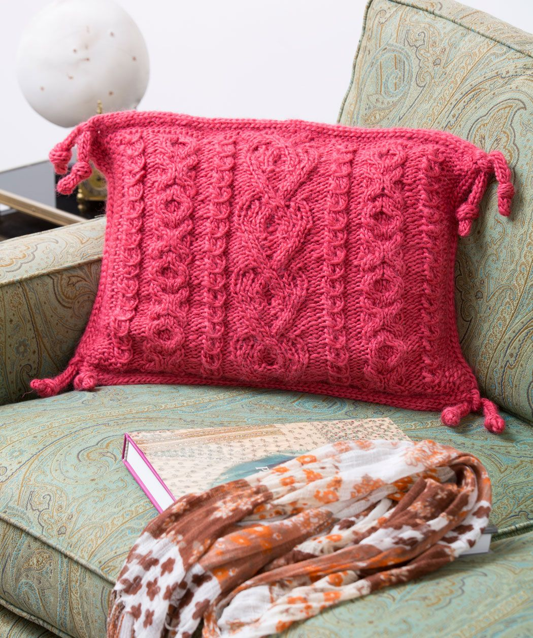Knitting Pillow Patterns For Beginners Let S Cuddle Pillow