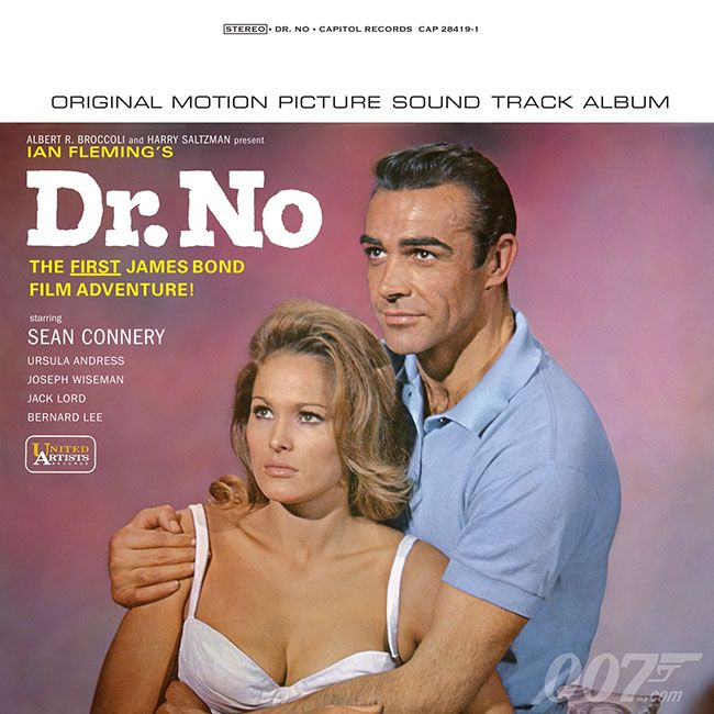 Dr No Goldfinger And Live And Let Die Available On Vinyl And High