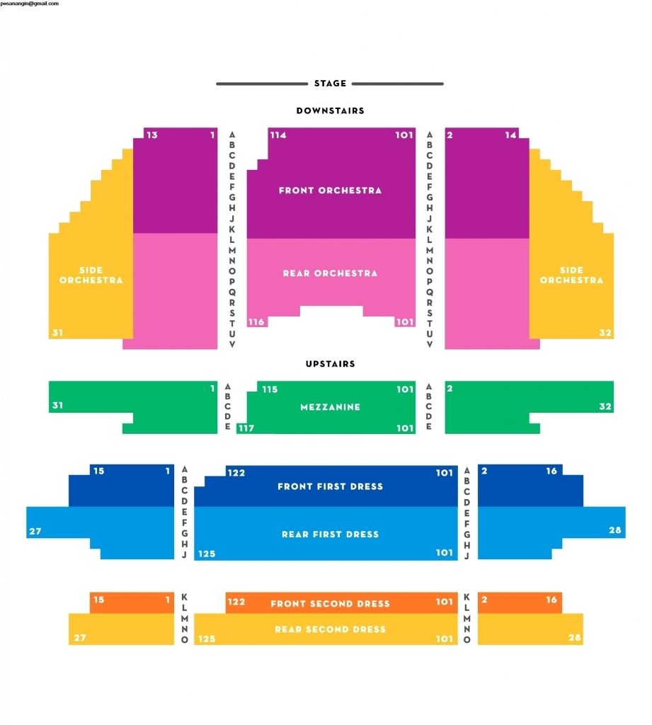 Carpenter Theater Seating Chart