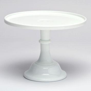 Milk Glass Pedestal Cake Stand - White at The TomKat Studio & Milk Glass Cake Stand | WHITE MILKGLASS | Pinterest | Milk glass ...