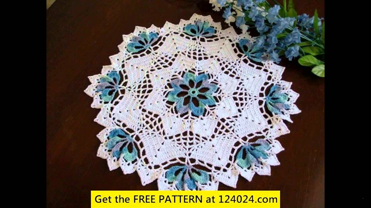 Free Crochet Round Tablecloth Patterns Awesome Inspiration Design