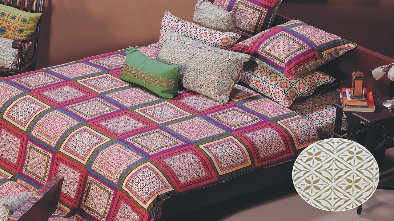 Latest Designer Top Bedsheet Design Ideas By Gul Ahmed New
