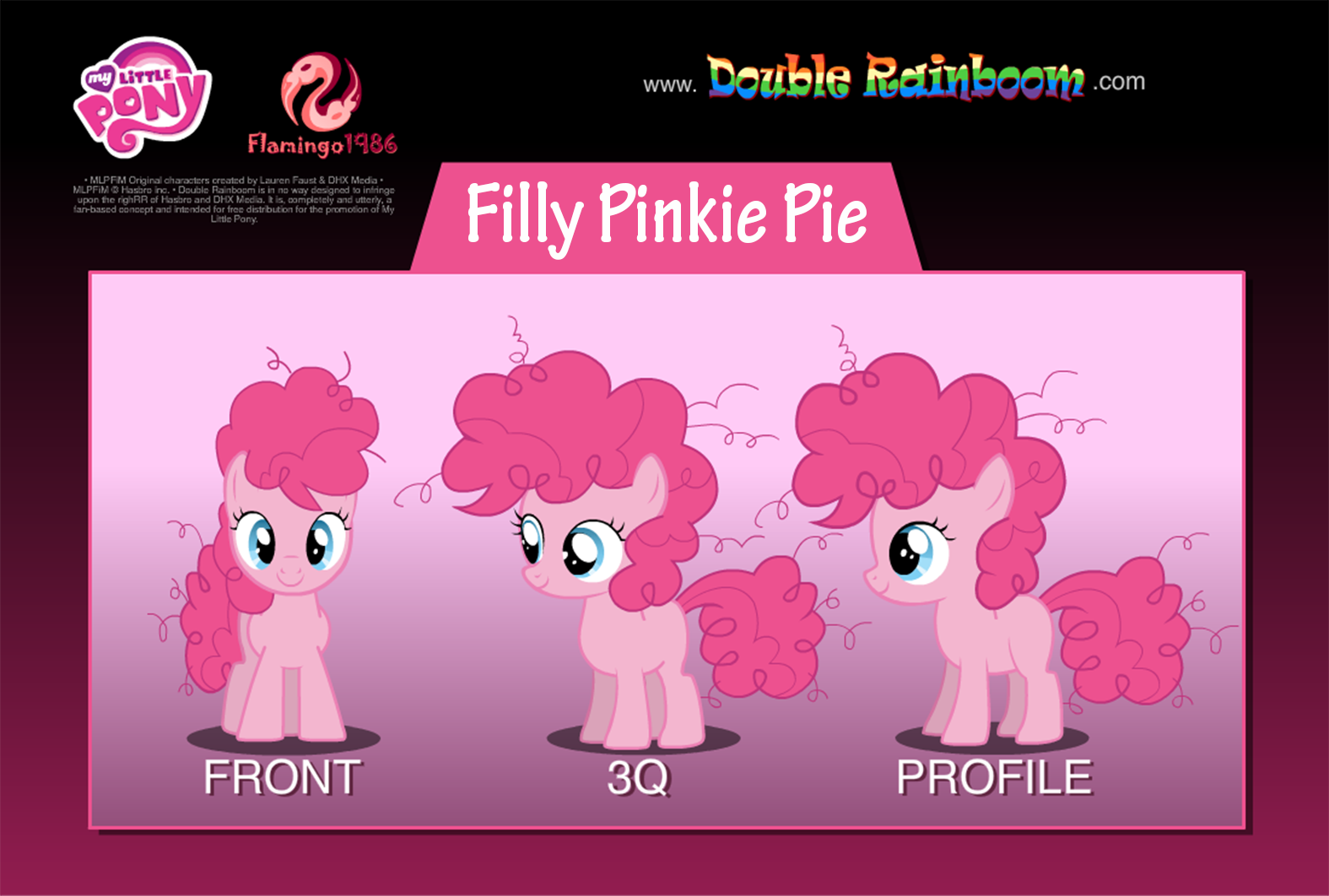 My Little Pony Filly Pinkie Pie