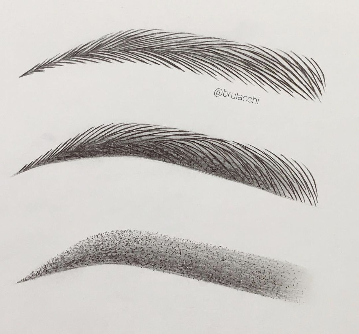 Permanent Sketch Book: Combination Of Microblading + Shading