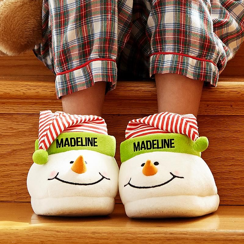 Children\'s Snowman Slippers | Christmas | Pinterest | Christmas ...