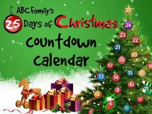 Abc Family S 25 Days Of Christmas Countdown Calendar Great For