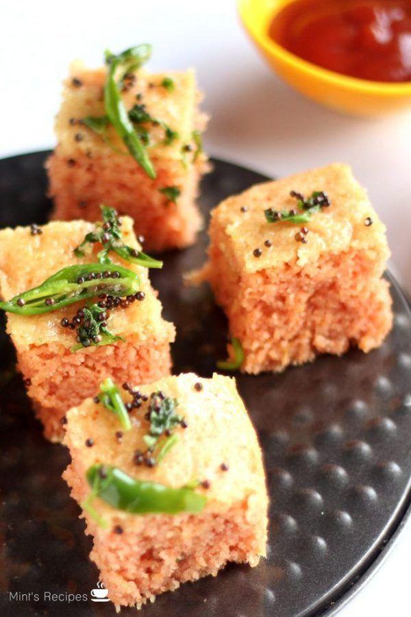 Rava dhokla recipe deep pan recipes and snacks forumfinder Choice Image