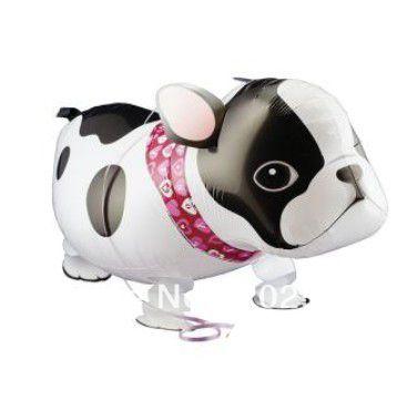 Free shipping hot sale dog walking pet balloons,50pcs/lot