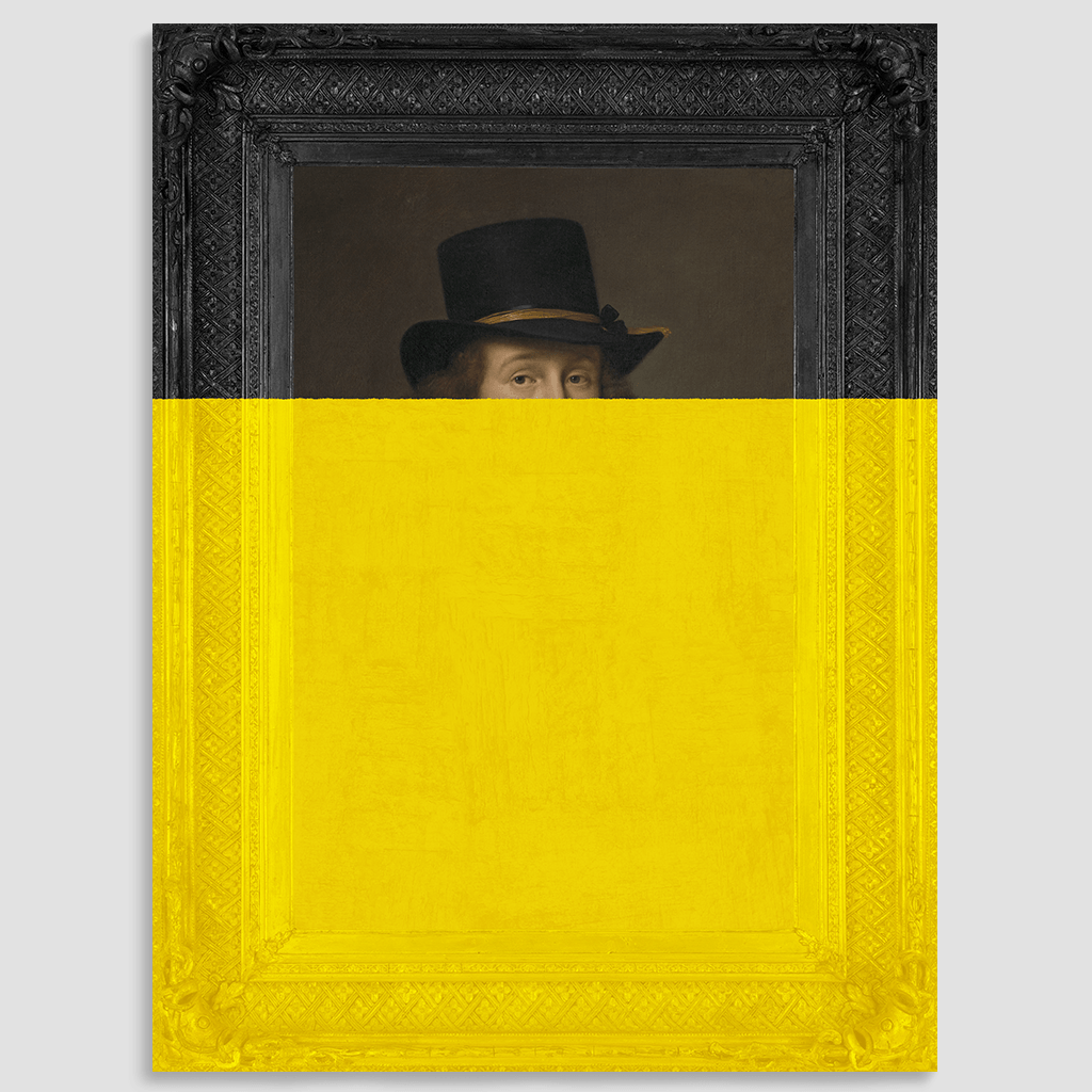 Man in Hat Canvas Print   Prints, Artwork and Canvases