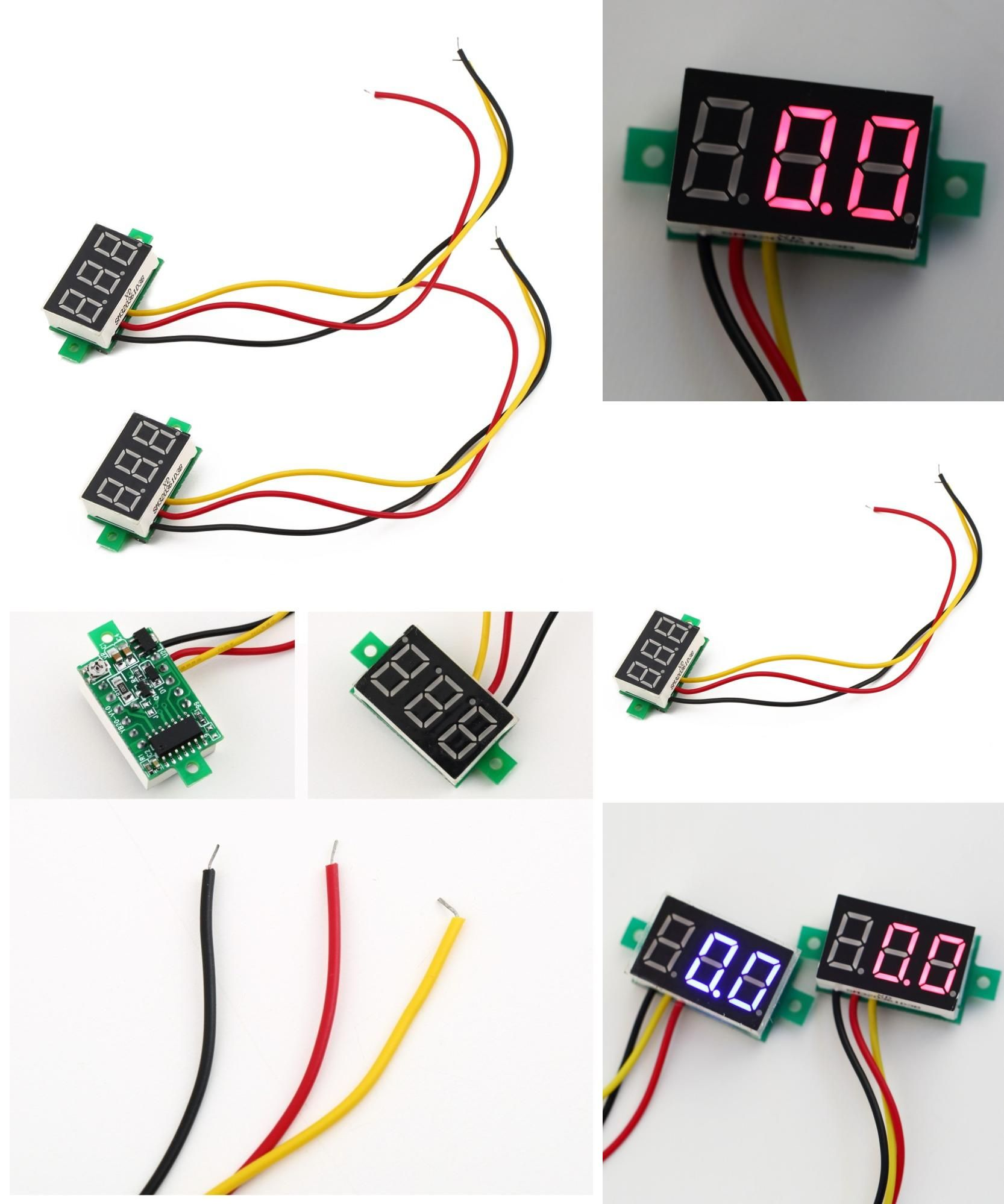Wiring Voltmeter In Car Visit To Buy Reverse Polarity Protection Dc0 100v Three Wire Dc