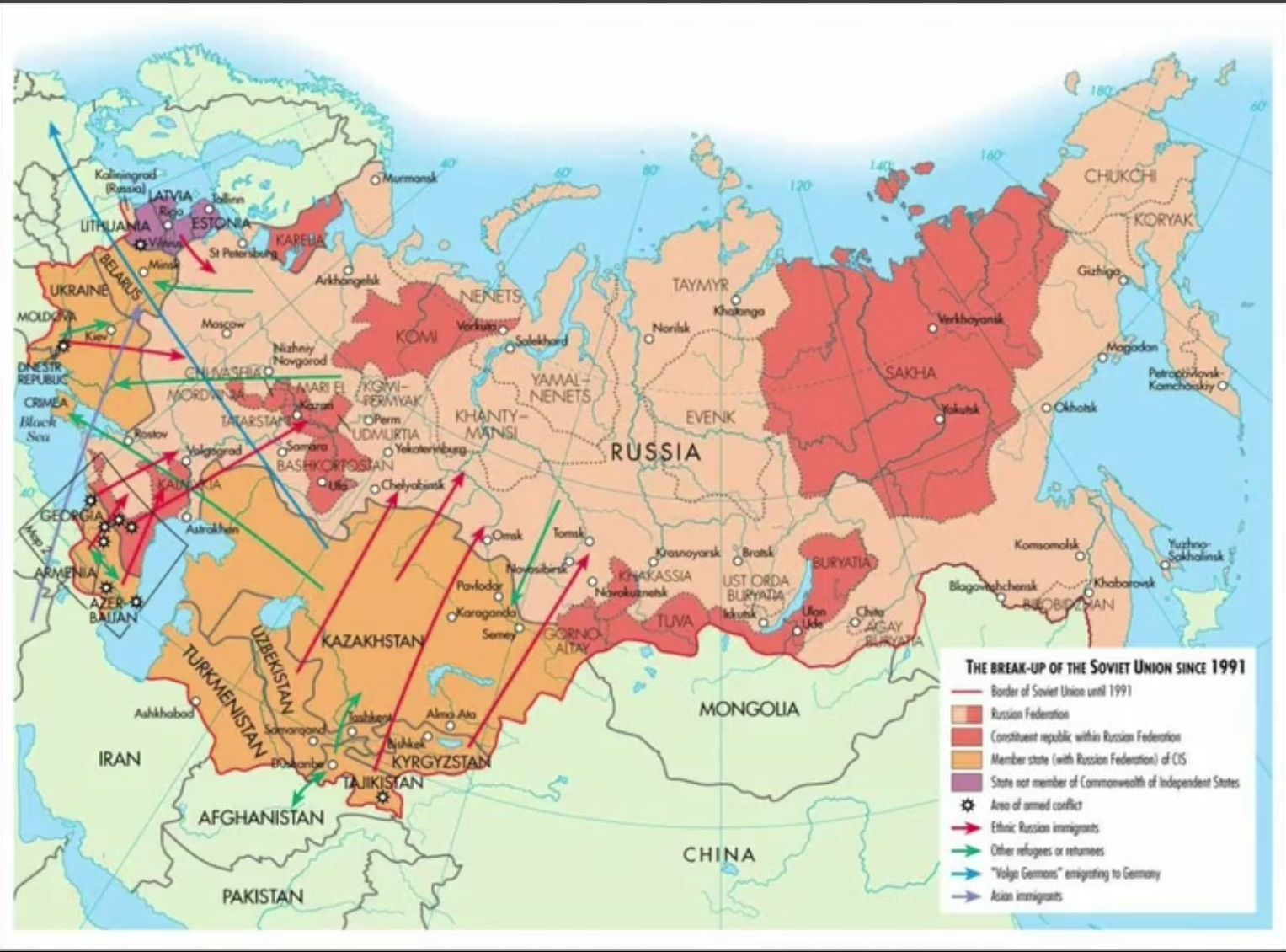 this map shows the soviet union and its eastern european allies before its collapse maps. Black Bedroom Furniture Sets. Home Design Ideas
