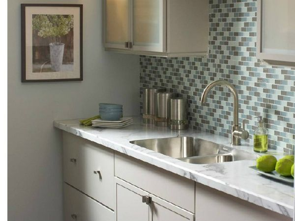 Calacatta Marble Formica Counter Tops That Look Like Marble With Undermount Sink 16 Sq Ft Ins Laminate Countertops Kitchen Remodel Kitchen Countertops