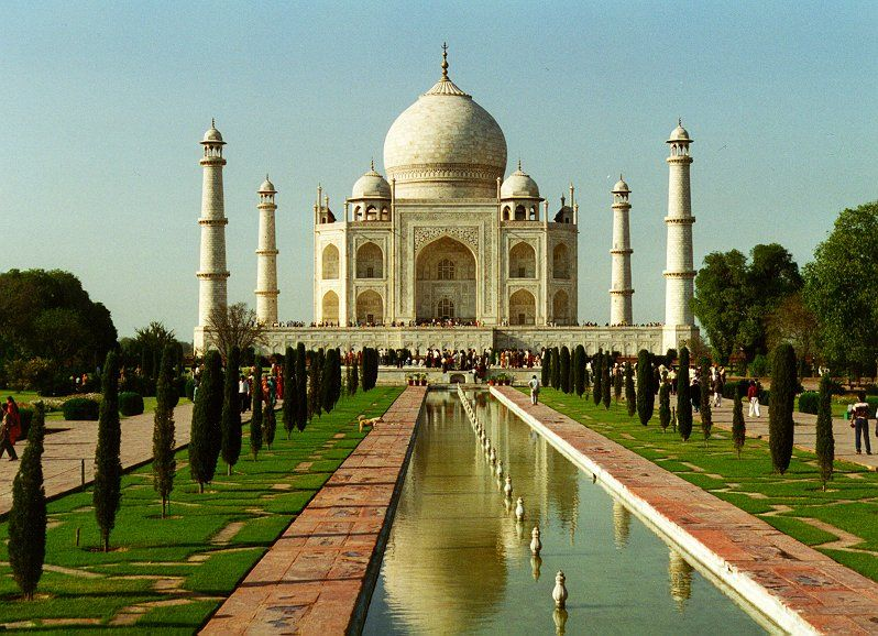 Taj Mahal, India, by Dave Bleasdale
