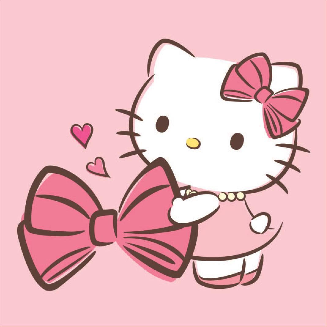 Maries Manor Hello Kitty: Hello Kitty & Her Beloved Bow ♪(´ε` )