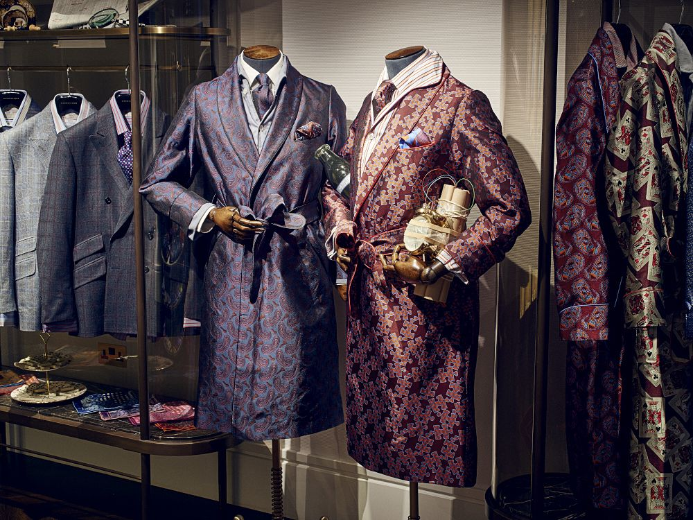 Dressing gowns by Turnbull & Asser | Fripperies and Foofaraw for ...