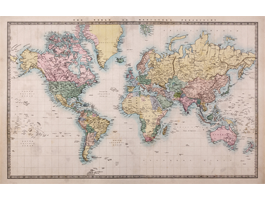 Old Style World Maps Wall Mural Products I Love World Map