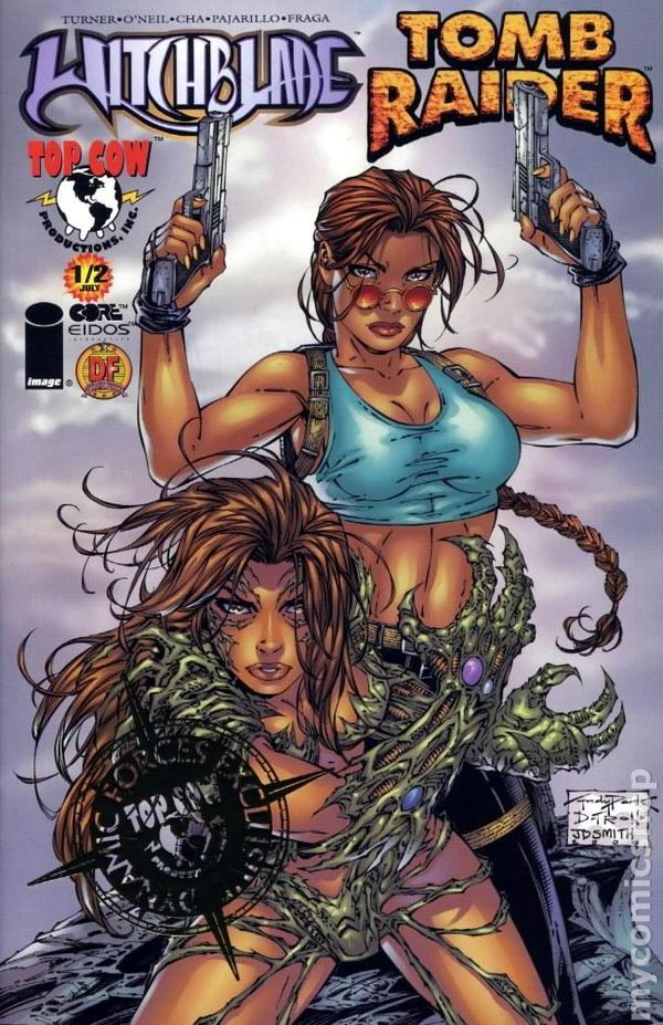 Witchblade Comic Book Covers - Google Search  Tomb Raider -8637