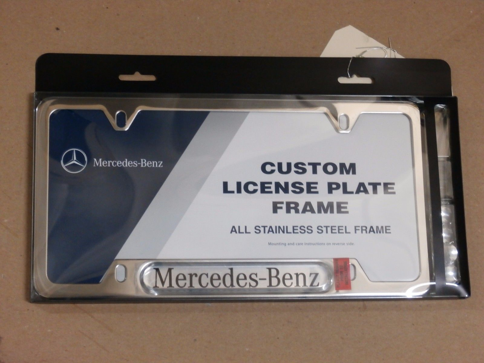 Awesome Awesome Mercedes-Benz Genuine Polished Stainless Steel ...