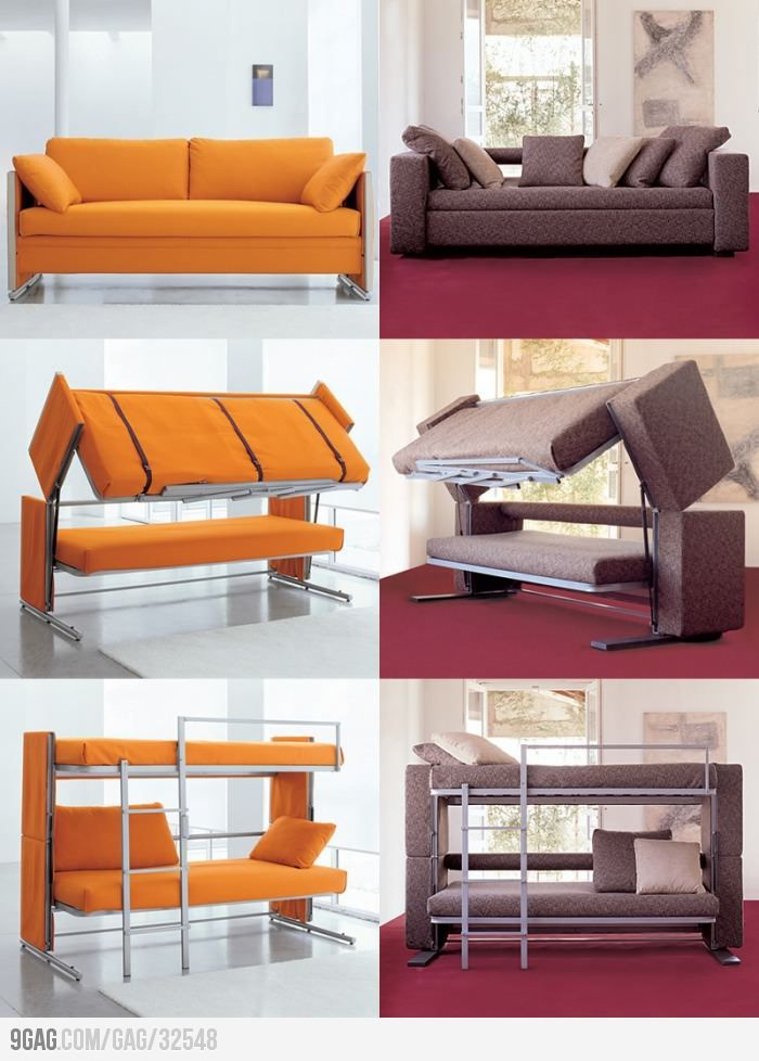 Space Saving Sofa Bed Furniture Decor Home