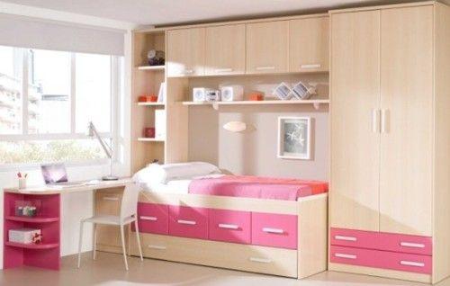 Dormitorio juvenil peque o 3 habitacion pinterest - Dormitorios juveniles pequenos ...