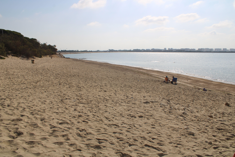 playa de puerto sherry en El Puerto de Santa María