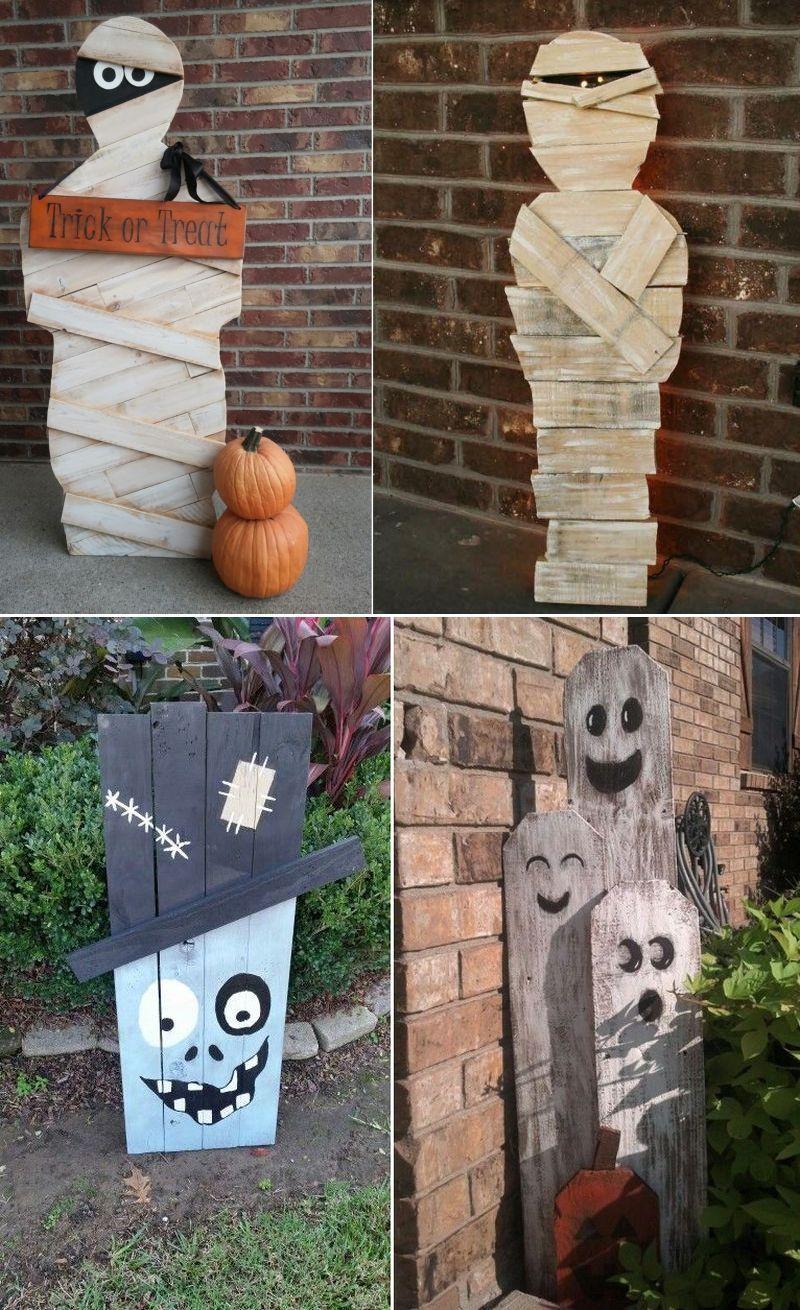 20 Pallet Wood Halloween Decoration Ideas