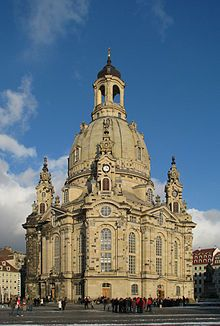 Frauenkirche Dresden Kirchen Deutschland Burgen Frauenkirche