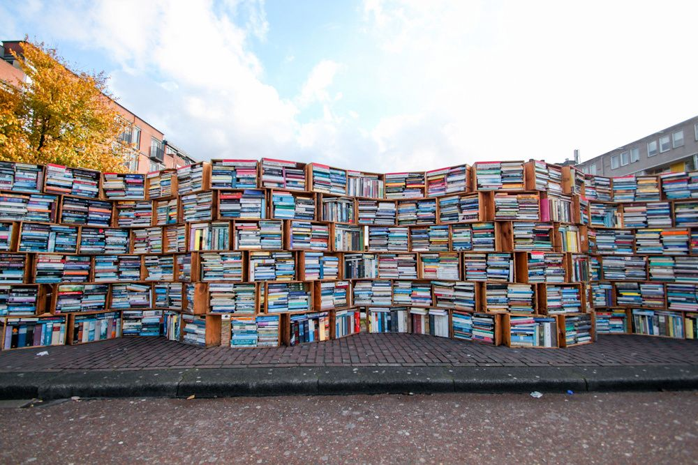 An amazing bookstore in Leiden, South Holland