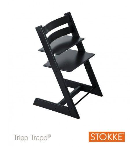 Stokke® Tripp Trapp® Højstol - Black